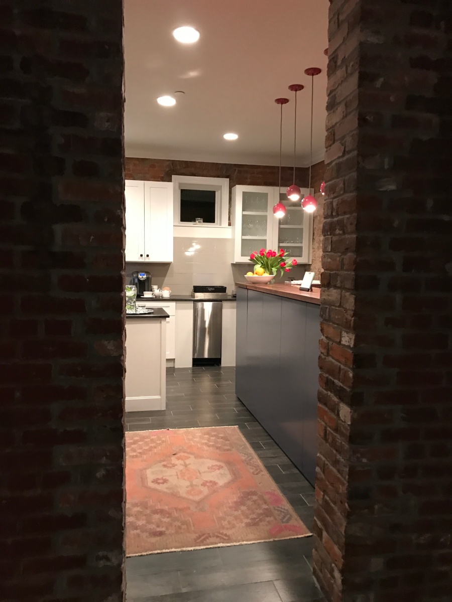 entrance kitchen